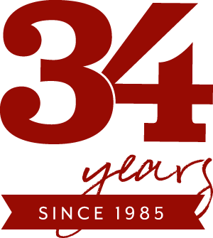 Rost Inc has been in business 34 years, since 1985 - Graphic